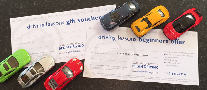 driving lesson vouchers eastbourne and hastings