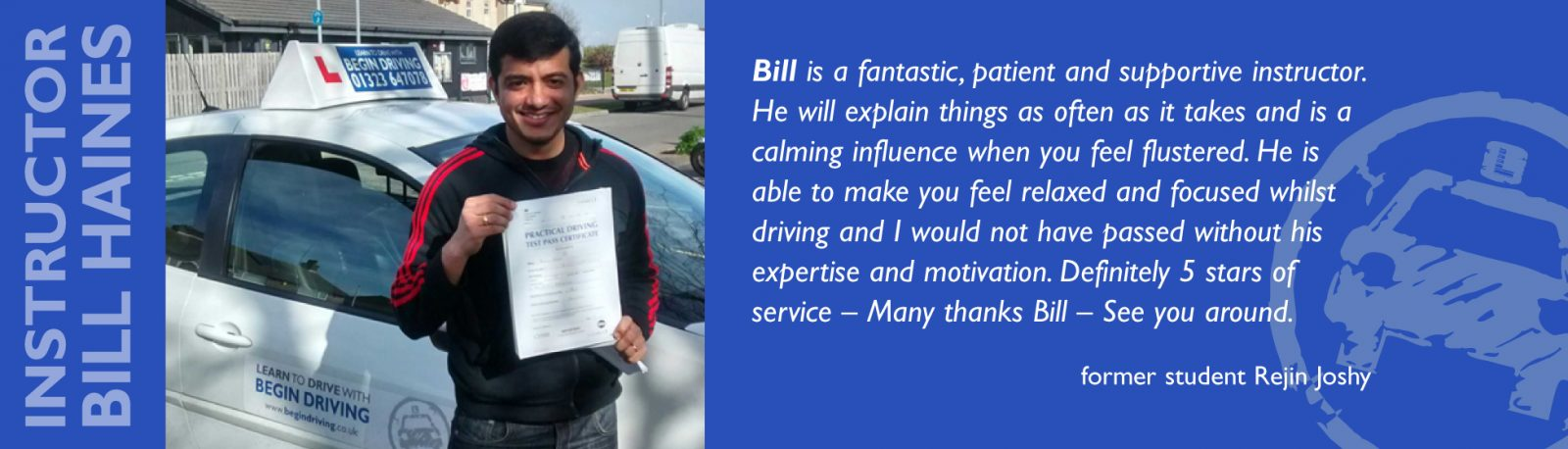 driving instructor eastbourne
